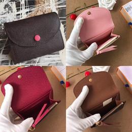 Coin Boxes Australia - Wholesale Designer Coin Purses short wallet Fashion high quality original box coin purse women designer wallet classic business card holder