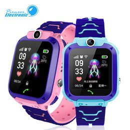 $enCountryForm.capitalKeyWord NZ - For Kids Q12 Children GPS Student Wrist Watches Smartwatch Remote Camera SOS Waterproof SIM Call For Android IOS Best Gift PK DZ09 GT08