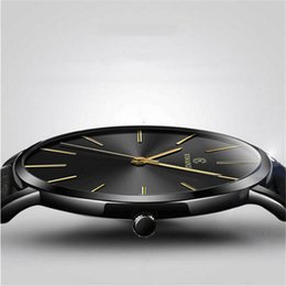 $enCountryForm.capitalKeyWord NZ - erkek kol saat Ultra-thin Men's Watch 2019 New Fashion Watches Simple Business Men Quartz Watches Male Clock relogio masculino