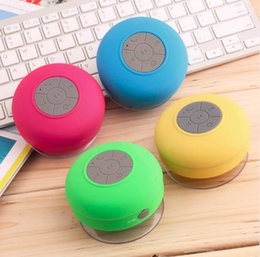 shower player Australia - Mini Bluetooth Speaker Portable Waterproof Wireless Handsfree Speakers, for Showers, Bathroom, Pool, Car, Beach & Outdo Car Hands-free