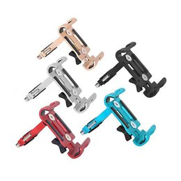 designer phone holder 2020 - Bicycle Aluminum Alloy Mobile Phone Holder Fixed Navigation Bracket Mountain Bike Mobile Phone Holder Riding Equipment c