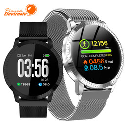 Oled smart watch online shopping - CF18 Smart Watch OLED Color Screen Smartwatch Fashion Fitness Tracker Heart Rate Blood Pressure Monitor For Men Women