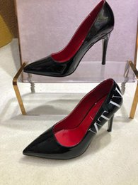 Discount cover highlights - 2019 Hot models recommend women's red luxury bottom high heels fashion highlight the characteristics of the times