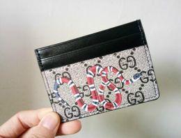 Weaved leather belt online shopping - 2019 Mens Brand Wallet Leather With Wallets For Men Purse snake Tiger bee Wallet Men Wallet Business card holder