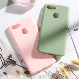 Chinese Candies online shopping - For OPPO AX7 Case Silicone Candy Color Soft Phone Case For OPPO A7 OPPOA7 CPH1901 Cases For OPPO A5S A7 A ax7 a x7 Cover