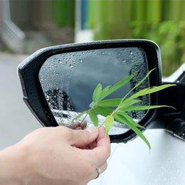venda por atacado Automóvel Retrovisor Espelho à prova de chuva à prova de chuva nanofilm pasta de água hidrofóbico filme reverso espelho Farlight reflexo