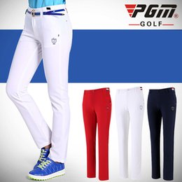 $enCountryForm.capitalKeyWord Australia - PGM Women Golf Pants Trousers Sportwear Female Slim Quick Dry Elastic Summer Thin Leisure Outdoor Sports Clothing Wear Pants