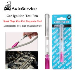 $enCountryForm.capitalKeyWord NZ - Car Ignition Test Pen Indicator Spark Plugs Wire Coil Diagnostic Tool Portable Tester Automotive High voltage line tester