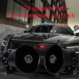 Module sound online shopping - LARATH For Car Truck Warning Alarm Loud Fire Siren Horn V W W Speaker System Module sound emergency auto horn