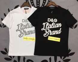 $enCountryForm.capitalKeyWord Australia - Brand DG shirts mens new tshirt Dolce polo Gabbana tshirts men casual t-shirt various patterns various styles latest tshirts top quality tee