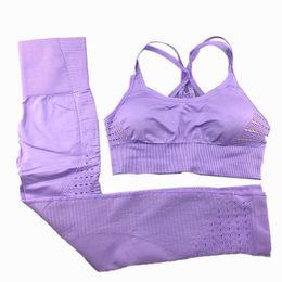 $enCountryForm.capitalKeyWord Australia - Women Yoga Wear Set Tracksuits Workout Clothes Nepoagym Sports Leggings Pants+Bra Suits Sportswear for Women Fitness Clothing