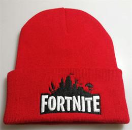 $enCountryForm.capitalKeyWord NZ - New Sport Winter Fortnite Game Hat Men Cap Beanie Embroidery Knitted Hip Hop Winter Hats For Women Fashion Warm Skullies Bonnet Gorro