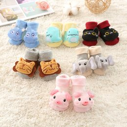 Wholesale Baby Fashion Toddler Socks Newborn Baby Anti-slip Casual Floor Socks Kids Cartoon Toddler Socks Babys Casual First Walkers Shoes