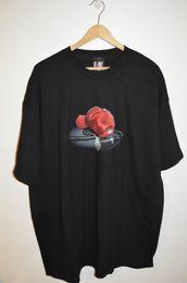 vintage LIMP BIZKIT sin usar vtg banda fred durst red hat mic camiseta para hombre 2XL 2018 Nuevos Hombres Camisetas Moda 2018 Manga corta