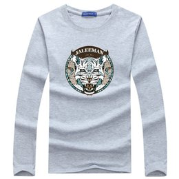 T Shirt High Elastic Men Australia - Wholesale Long Sleeve T Shirt Men 2019 New Fashion Brand Clothing High Quality Comfort Cotton Elastic Casual Male T-shirt S-5xl