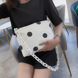 $enCountryForm.capitalKeyWord Australia - women bag cute 2019 Designer handbags high quality Women Bag Vintage canvas Shoulder Bags New Spotted pattern Shoulder Handbags