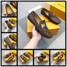 Eva Suit Australia - 2020 NEW Designer European Handmade Genuine Leather Men Brown Monk Strap Formal Shoes Office Business Wedding Suit Dress Loafers