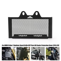 Bmw radiators online shopping - Motorcycle Accessories Suitable for BMW R9T And Radiator Grill Pure Oil Cooler Cover Protection Board