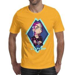$enCountryForm.capitalKeyWord UK - Lil Pump cartoon character diamond yellow t shirt,shirts,t shirts,tee shirts printing funny vintage make a superhero friends casual t shirt