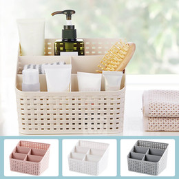$enCountryForm.capitalKeyWord Australia - Cosmetic Makeup Storage Box Case Office Storage Drawer Casket Brush Box Cosmetic Jewelry Organizer Lipstick Remote Control