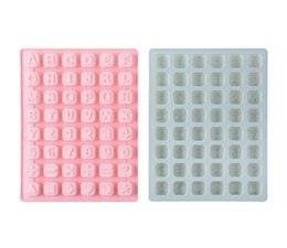 Candy shaped Cakes online shopping - English Letters Stars Shapes Chocolate Silicone Mold Candy Ice Cubes Mould Pastry Soap Molds Fondant Cake Baking Tools