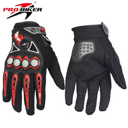 Motor Bicycles Australia - Bicycle Cycling Outdoor Sport Motor Full Finger Gloves Motorcycle Gloves Mens&Women Motor bike Riding Gloves