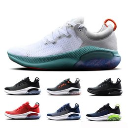 black men sport running shoes Australia - Hot Sale Joyride Run Men Running Shoes Designer Shoes Triple Black White Platinum Tint Red Outdoor Sports Trainers Breathable Sneakers