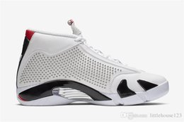 Wholesale 2019 Hottest Authentic supreme x Air White airjordan University Red Retro Black BV7630 Men Basketball Shoes Sneakers With Box