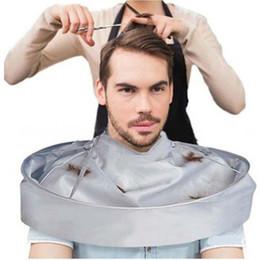 $enCountryForm.capitalKeyWord Australia - Waterproof Adult Hair Cutting Cloak Umbrella Cape Salon Barber Hairdressing Home Cutting Capes Clothes 2019 Creative