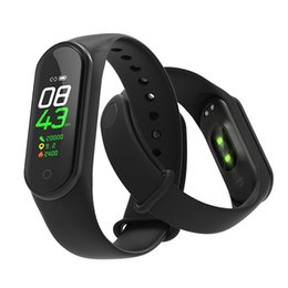 $enCountryForm.capitalKeyWord UK - Sport Fitness Tracker Intelligent Watch M4 Smart Bracelet Heart Rate Smart Watchband Wristband Fashion Watch for iOS