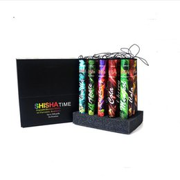 $enCountryForm.capitalKeyWord Australia - E ShiSha Time Disposable Cigarette E HOOKAH Pen 500 Puffs Various Fruit Flavors Colorful SHISHA TIME Pens Electronic Cigarette