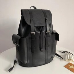 $enCountryForm.capitalKeyWord Australia - Designer bags Genuine leather luxury women men Designer water ripple backpack leather fashion travel bag computer bag s428