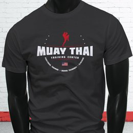 c168df97 Muay Thai MMA Fight Training Black Belt Fighter Mens Charcoal T-Shirt free  shipping Unisex Casual Tshirt top