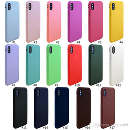 Cell Phone Cases For Cheap Canada - New cell phone case for iphone XS max XR X 6S 7 8 plus TPU silicone soft mobile phone case slim ultra thin high quality cheap case cover