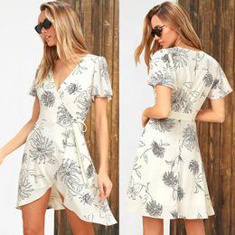 Vintage Design Clothes Australia - 2019 women's summer dresses new design flora printing straps bottoming dress sexy silk dressing womens clothes streetwear beach wear skirts