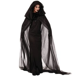 $enCountryForm.capitalKeyWord UK - Halloween COS witch black death vampire makeup dance costume adult witch costume cosplay costume