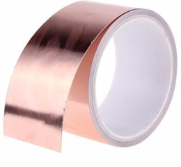 50mm X 5.5m Double Conductive Adhesive Copper Tapes Great for stained glass from lcd mask manufacturers