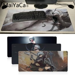 Lovely Kawaii Cute 90x40cm Large Gaming Mouse Pad Home Office Pc Computer Gamer For Cs Go Lol Keyboard Mouse Mat Cartoon Desk Mousepad Computer Peripherals