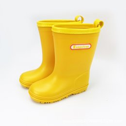 rain boots NZ - Hot Sale-en Rain Student Child Non-slip Boots Baby Water Shoes Overshoes