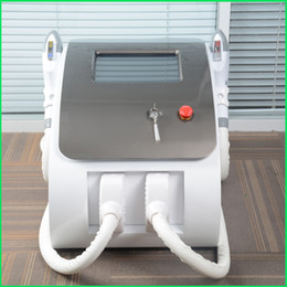 Hair Machine Uk Australia - elight hair removal New Arrival!!! Two Handles SHR+Elight IPL laser hair removal machine UK imported lamp