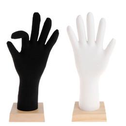 $enCountryForm.capitalKeyWord NZ - Mannequin Hand Jewelry Display Bracket Model Finger Bracelet Bangle Ring Showcase Show Silicone Soft Universal Gloves Accessorie