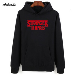 Wholesale stranger things hoodie resale online - Aikooki Men Hoodie Stranger Things Hoodies Men Sweatshirt women men Casual Stranger Things Sweatshirts Women Hoodie Men s XXS T200319