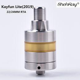 $enCountryForm.capitalKeyWord UK - Shenray 2019 Newest Kayfun Lite RTA Atomizer 316SS Material 22 24mm Diameter Rebuildable Tank vs Prime for 510 Battery Mod