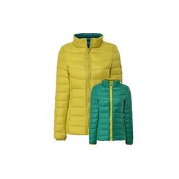 $enCountryForm.capitalKeyWord UK - 2019 4XL 5XL 6XL Women's Down Coat Ultra Light Down Jacket Women With Carry Bag Travel Double Side Reversible Jackets Size Plus