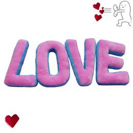 "$enCountryForm.capitalKeyWord UK - Large Size ""LOVE"" Letter Pillow Girlfriend's Valentine Presents Stuffed Plush Toy Bedside Dolls Creative Wedding Couple Gifts"
