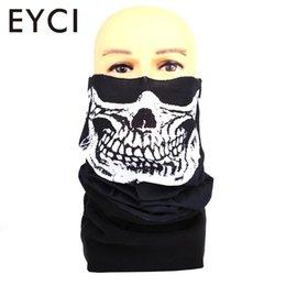 Sciarpa in pile multi-funzione maschera da equitazione Sciarpa in pile pratico nero superfine fibra headwear fazzoletto da arrampicata