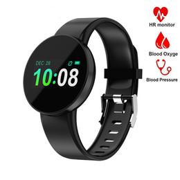 $enCountryForm.capitalKeyWord Australia - Fashion Smart Watch Men Women Bluetooth Fitness Tracker Heart Rate Bracelet Monitor Call Message Reminder Sport Wristband