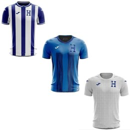 e2ed74eb1 S-2XL Honduras Camisetas Gold Cup Home Away third blue white Lozano  9  Quioto  12 Camisa de futebol Football Shirts Soccer Jerseys 2019