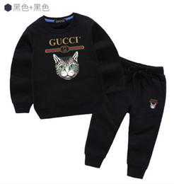 $enCountryForm.capitalKeyWord UK - 2019 brand Boys 2-11 years Girls Suit Tracksuits sweater Clothing Set Hot Fashion Spring Autumn Children's Dresses Long Sleeve Sweater oredw