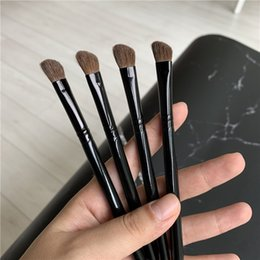 $enCountryForm.capitalKeyWord Australia - 275SE Medium Angled Shading Brush Makeup MC horse Hair Black Handle Eyeshadow Blending Detailer Beauty Pro Tool DHL